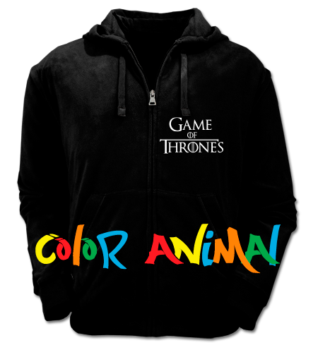 Stark Winter is Coming Game of Thrones Camperas Color Animal
