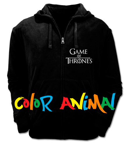 House Stark Winter is Coming Game of Thrones Camperas Color Animal