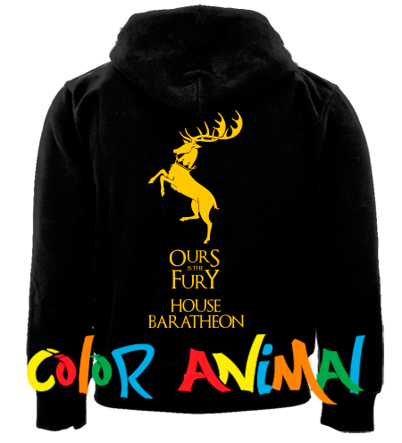 House Baratheon Our is the Fury Game of Thrones