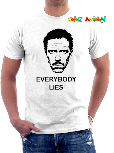 Dr. House Everybody Lies Remeras Color Animal