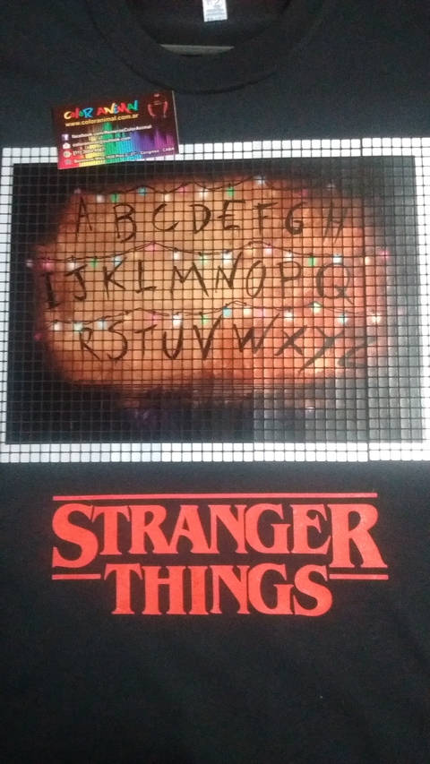Remera Stranger Things