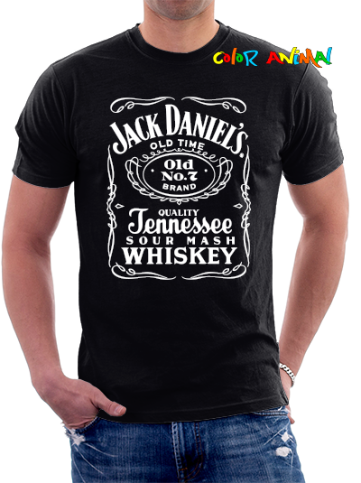 Jack Daniel´s - Remeras Color Animal