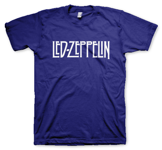 Led Zeppelin Remeras Color Animal