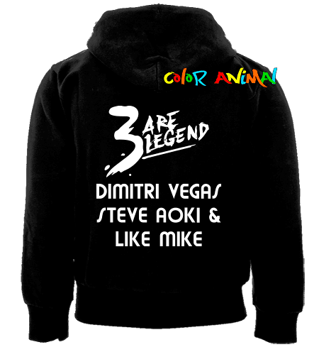 Campera 3 Are Legend Dimitri Vegas Steve Aoki Like Mike
