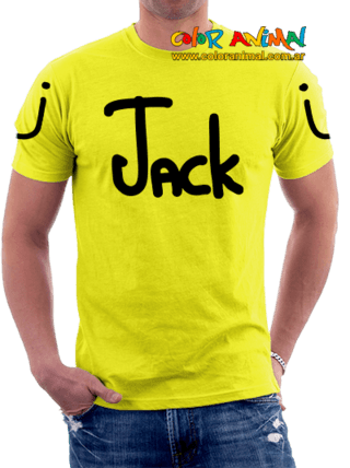 JackÜ Logo Remeras Color Animal