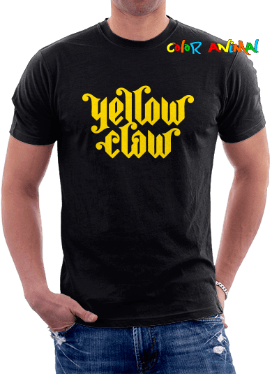 Logo Yellow Claw Remeras Color Animal