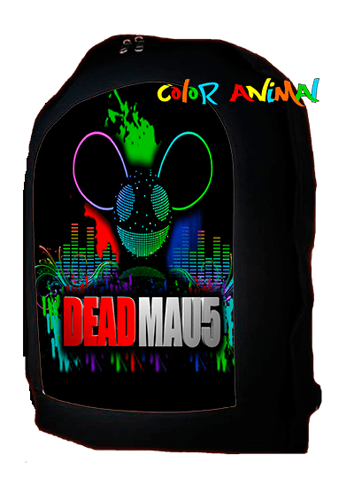 Mochila Deadmau5 Color Animal