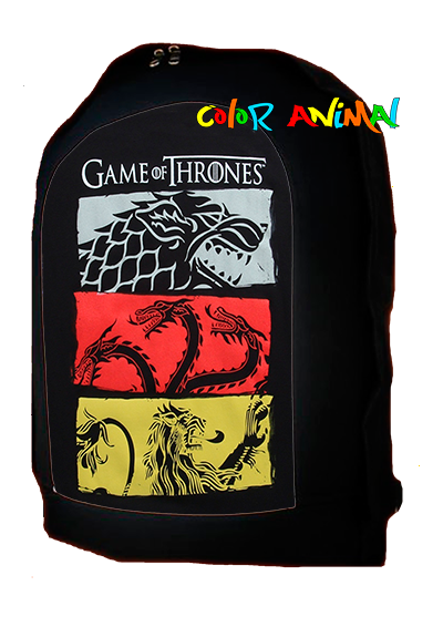Mochila Game Of Thrones Color Animal