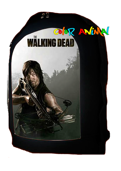 Mochila Daryl The Walking Dead Color Animal