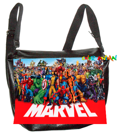Morral de Cuerina Marvel Color Animal