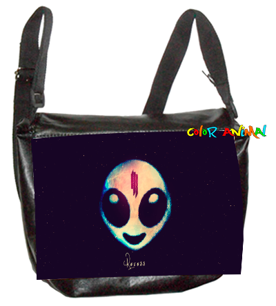 Morral de Cuerina Skrillex Recess Color Animal