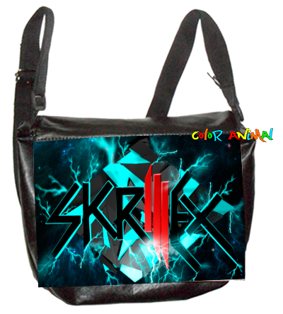 Morral de Cuerina Skrillex Color Animal