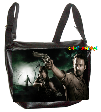 Morral de Cuerina The Walking Dead Color Animal