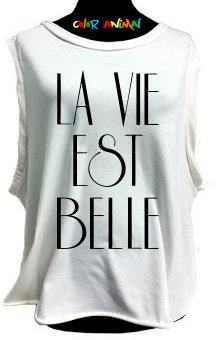 La Vie Est Belle - Remeras Color Animal  Musculosa Mujer
