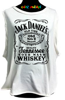 Jack Daniel´s - Remeras Color Animal  Musculosa Mujer