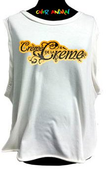 Creme de la Creme - Remeras Color Animal  Musculosa Mujer