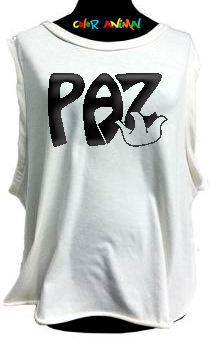 Paz - Remeras Color Animal  Musculosa Mujer