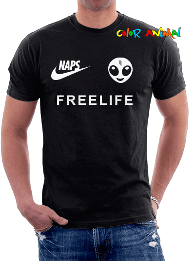 Skrillex Naps Recess Freelife  Remeras Color Animal