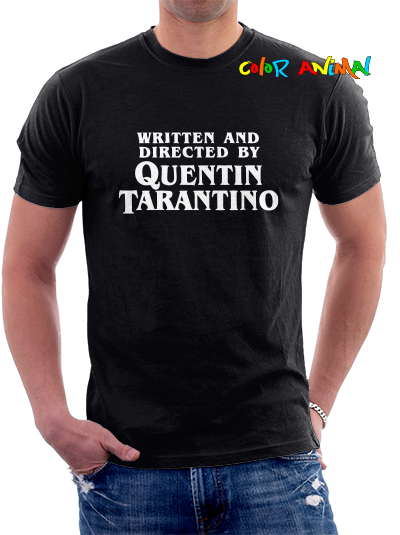 Written and Directed by Quentin Tarantino  Remeras Color Animal