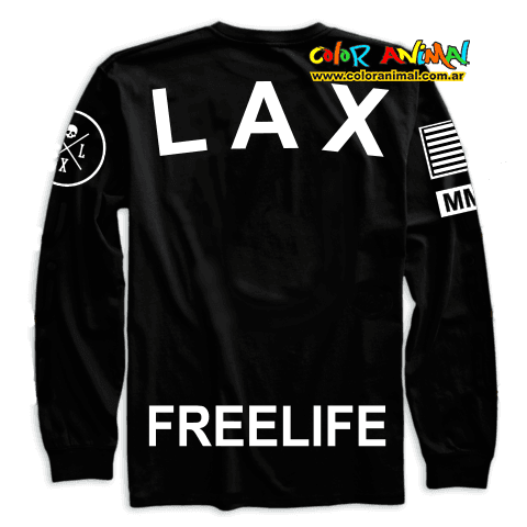 Remera Manga Larga Owsla LAX Freelife - comprar online