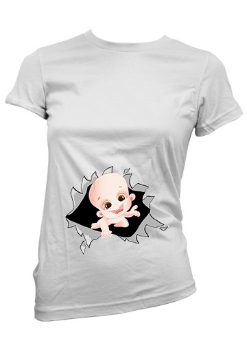 Remeras Futura Mama Embarazadas Baby Shower Color Animal