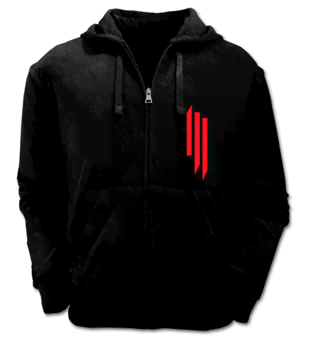 Campera Logo Skrillex  Color Animal