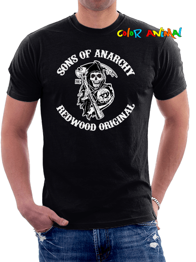 Sons of Anarchy - Remeras Color Animal