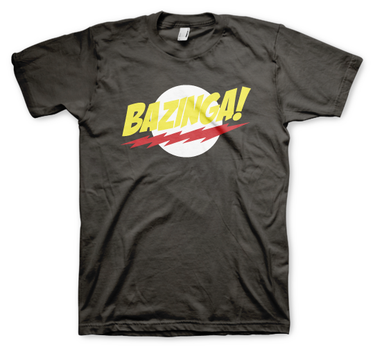 Bazinga! The Big Bang Theory - Color Animal