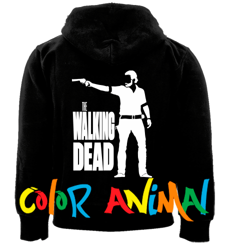 The Walking Dead Camperas Color Animal