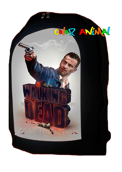Mochila Rick Grimes The Walking Dead Color Animal