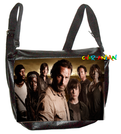 Morral de Cuerina The Walking Dead