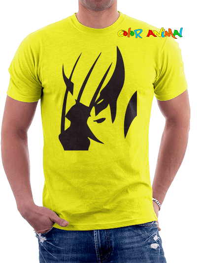 Wolverine X-Men - Remeras Color Animal