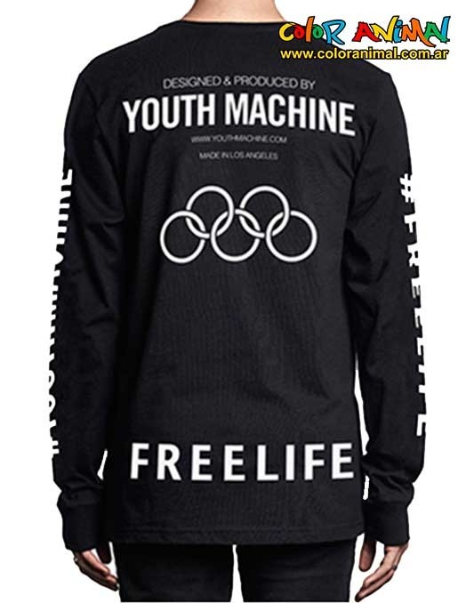 Buzo Youth Machine Bixel Freelife en internet