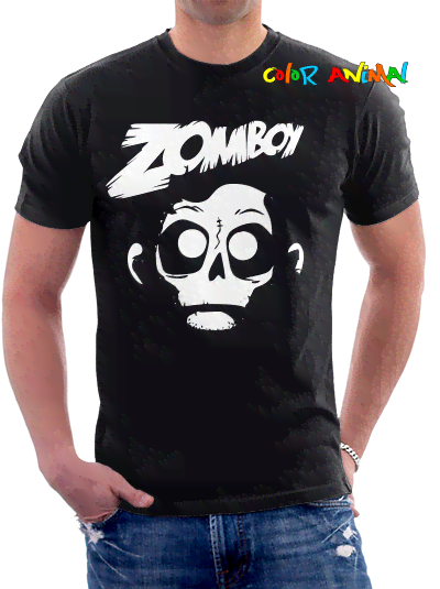 Zomboy Diseño Logo Remeras Color Animal