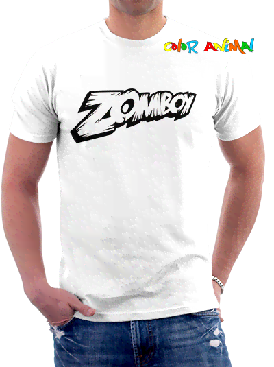 Zomboy Logo Remeras Color Animal