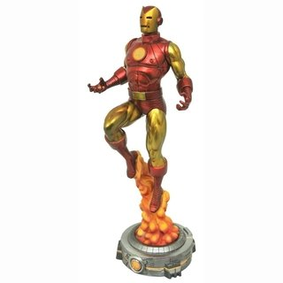 Estatua Marvel Gallery Iron Man Retro