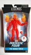 Figura Marvel Legends Fantastic Four - The Human Torch