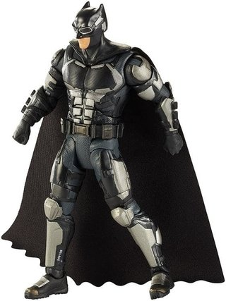 Figura Justice League Multiverse Batman (BAF Steppenwolf)