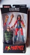 Figura Marvel Legends - Ms Marvel (Baf Sandman)