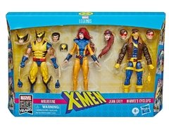 3-Pack X-Men Marvel legends (Wolverine, Cyclops, Jean Gray)