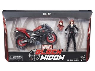 Figura Marvel Legends Black Widow