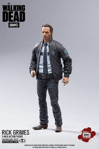 Figura Exclusiva Walking Dead Series 10 - Rick Grimes