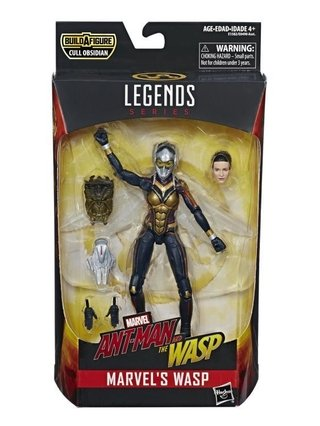 Figura Marvel Legends - The Wasp (Baf Cull Obsidian)