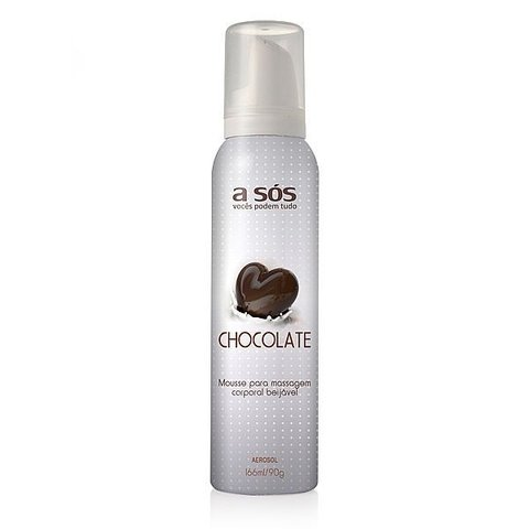 Mousse Corporal Aerosol Beijável Chocolate - 166ml/90g na internet