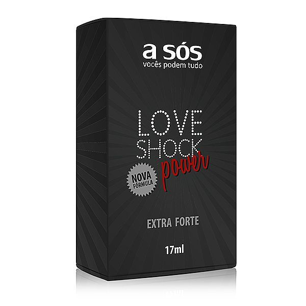 Gel LoveShock Power Eletrizante versão extra forte - 17ml - Fantazzia Sex Shop - Loja SexShop Online