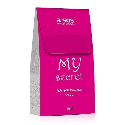 Excitante feminino My Secret em gotas - 10ml