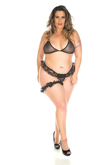 Mini Conjunto Sex Plus Size