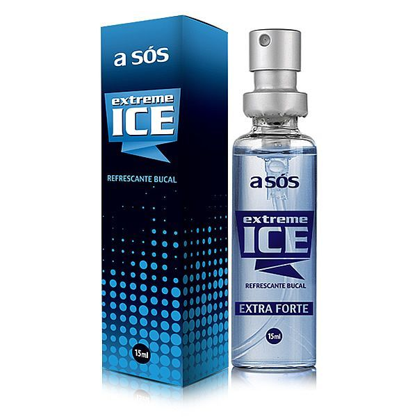 Refrescante Bucal Extreme Ice Extra Forte Embalagem Spray - 15ml