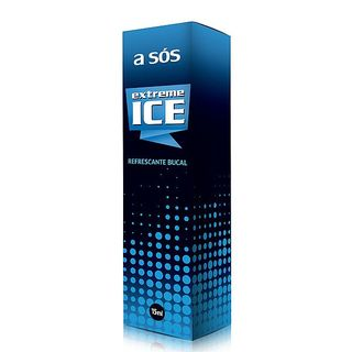 Refrescante Bucal Extreme Ice Extra Forte Embalagem Spray - 15ml na internet