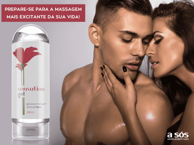 Sensation Gel para Massagem Nuru - 200ml